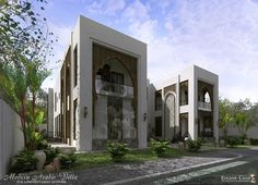 Modern Islamic Design Villa In Saudi Arabia Designed By