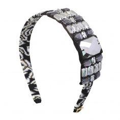Headband by Sereni & Shentel. Borneo Mandy in Black. Made in Borneo. Shop here: http://sereniandshentel.com/special-projects/205-borneo-mandy-black.html $60