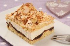Baiserschnitte mit Pflaumenmus Rezept: Ein knuspriger Kuchen vom Blech mit Baiser und Pflaumenmus - Eins von 7.000 leckeren, gelingsicheren Rezepten von Dr. Oetker!