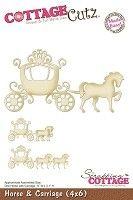 Cottage Cutz - Die - Horse & Carriage