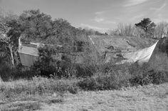~abandoned and unfinished boat hull (Awendaw, South Carolina)