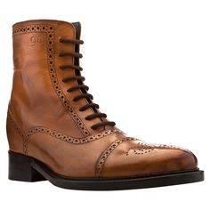 Elevator Boots & Booties - Limited Edition : Cognac