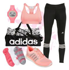 """""""On-the-run: Adidas"""" by dcharissenicole on Polyvore featuring adidas"""