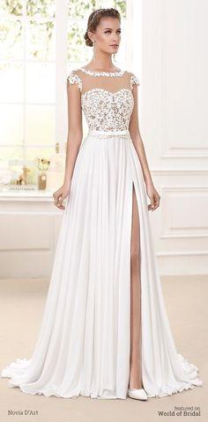 Novia D'Art 2016 nupcial vestido de novia