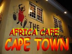 Africa Café proudly holds the title of Cape Town's first authentic African restaurant, having been established during South Africa's rocky political climate in 1992 Zimbabwe, Cape Town, South Africa, Presentation, African, Restaurant, Diner Restaurant, Restaurants, Dining