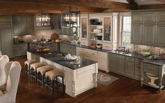 Sage Green Cabinets | Kitchen Cabinets & Design | Just Cabinets Ideas & Photos