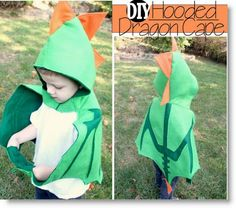 Hooded Dragon Cape