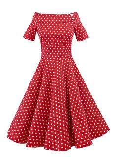 Robe Pin-Up Rockabilly Années 50 Dolly And Dotty