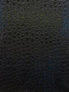 Bubble faux leather fabric - black by bigz11