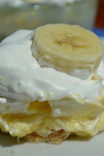 Sweet Morris: Banana split cake