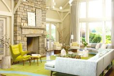 Rugs can help set the tone for an entire space. To inspire you, here are a few living room rugs that will make your space stand out! Living Room Ideas. Living Room Inspiration. #modernsofas #livingroomrugs See more at: https://www.brabbu.com/en/inspiration-and-ideas/interior-design/beautiful-living-room-rugs-want-steal