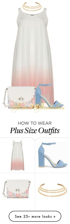 """""""Untitled #5588"""" by brassbracelets on Polyvore featuring Candie's, Kenneth Jay Lane, Nly Shoes and Eddie Borgo"""