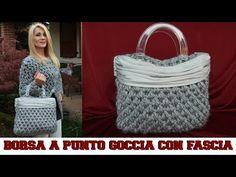 BORSA A PUNTO GOCCIA CON FASCIA IN TESSUTO - NUNZIA VALENTI - YouTube