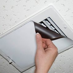Magnetic Vent Covers - Help reduce heating and air conditioning costs by preventing hot or cold air from entering rooms where it is not needed - spare rooms, attics, basements, etc. Makes homes more energy efficient, and enables better temperature control and increased comfort in occupied rooms. These vent covers magnetically attach to metal registers closing off air more effectively. Attractive, practical and easy to install - they really work!