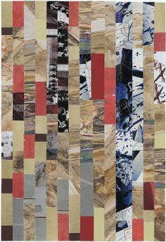 Mosaic 1 by Arden Riordan. Collage. 2013