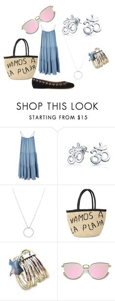 """""""Day wear"""" by frances-anderson-1 on Polyvore featuring Topshop, Bling Jewelry, Roberto Coin, Sensi Studio and Alaïa"""