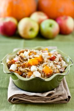 butternut squash & apple quinoa salad
