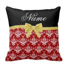 >>>Low Price Guarantee          	Custom name red damask gold glitter bow pillow           	Custom name red damask gold glitter bow pillow today price drop and special promotion. Get The best buyReview          	Custom name red damask gold glitter bow pillow Review on the This website by click ...Cleck Hot Deals >>> http://www.zazzle.com/custom_name_red_damask_gold_glitter_bow_pillow-189409525095504016?rf=238627982471231924&zbar=1&tc=terrest