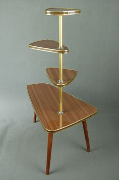 Mid century modern plant stand ideas, etsy, vintage, furniture, side tables, west elm, style, woods, home, retro, shelves, pots, wire, space, design, display, products, hairpin legs, green, dining rooms, black, indoor planters for plant dwellings at your home.