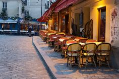 Cafeteria in Montmartre