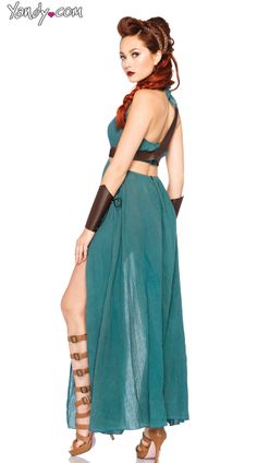 Warrior Maiden Costume, Womens Warrior Costume, Female Warrior Costume
