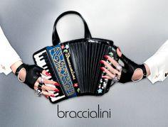 BRACCIALINI FISARMONICA Woman Handbag accordion bag
