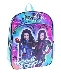 This Disney Descendants 'Schooled & Cool' Backpack by Global Design is perfect! #zulilyfinds