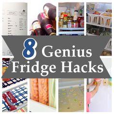 8 Genius Fridge Hacks
