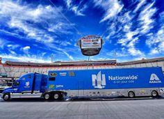 Freightliner Cascadia, NASCAR, Hauler, Nationwide, Transporter