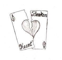 Sad Broken Heart Drawing | sad broken heart drawings