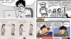 Sering Baca Komiknya? Ini Dia Profil 4 Seniman Web Comic Indonesia