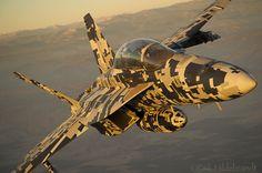 F-18E Super Hornet (100 years of Naval Aviation camo scheme)