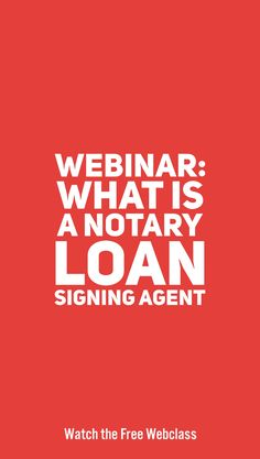 Are you thinking about becoming a notary public loan signing