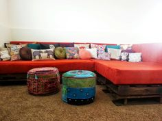 Tutorial - How to Make a Shipping Pallet Couch
