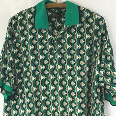 Men's Golf Polo Shirt Medium Multi-Color Steve Stricker Fairway Sport  #Fairway #PoloRugby