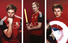 Bradley James. Oh my good Lord!