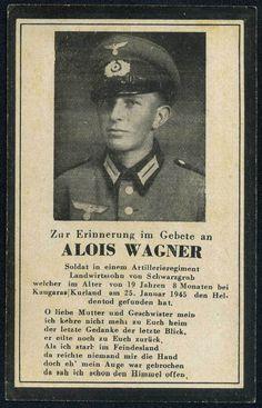 orig. WK2 STERBEBILD - DEATH CARD - Kesselschlacht von Kurland Jan. 1945