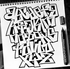 Graffiti Alphabet, Graffiti Art, Alphabet Letters, Typography, Lettering, To My Daughter, Street Art, Calligraphy, Anonymous