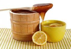 Zitrone und Honig gegen Gicht