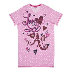 Hatley Women s ONE SIZE Sleepshirt LOVE IS IN THE AIR PJ sleep