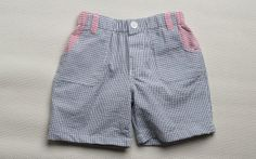 Boy's Searsucker Shorts Boy's Shorts by TeenyBambiniCouture, $24.99