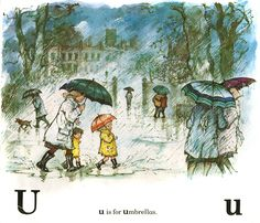 """from """"Lucy and Tom's ABC"""" by Shirley Hughes"""