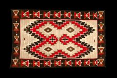 Navajo Rug, Hubbell Trading Post. This and more important Navajo Weavings for sale on the CuratorsEye.com