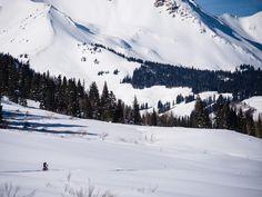Fat biking Schofield Pass Road, Crested Butte, Colorado. Photo: Scott Anderson
