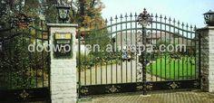 lusso cancello in ferro battuto du001-immagine-Porta-Id prodotto:201632520-italian.alibaba.com