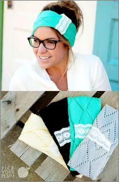 Perfect Stocking Stuffer Gift! Cute Knit Headbands!