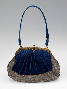 French Purse - 1910-20 - Silk metal