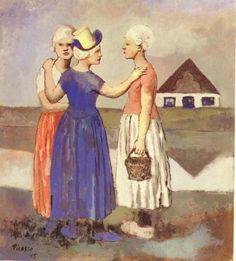 Les trois hollandaises  Picasso
