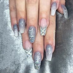 Snowflake Queen - These NYE Nail Ideas Will Have You Shining Like the Crazy Diamond You Are - Photos