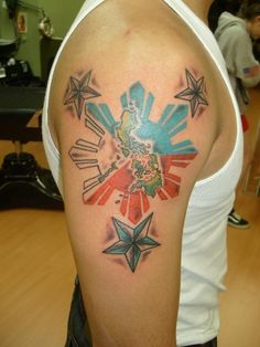 Tattoos on pinterest koi catholic tattoos and chicano for Philippine island tattoo
